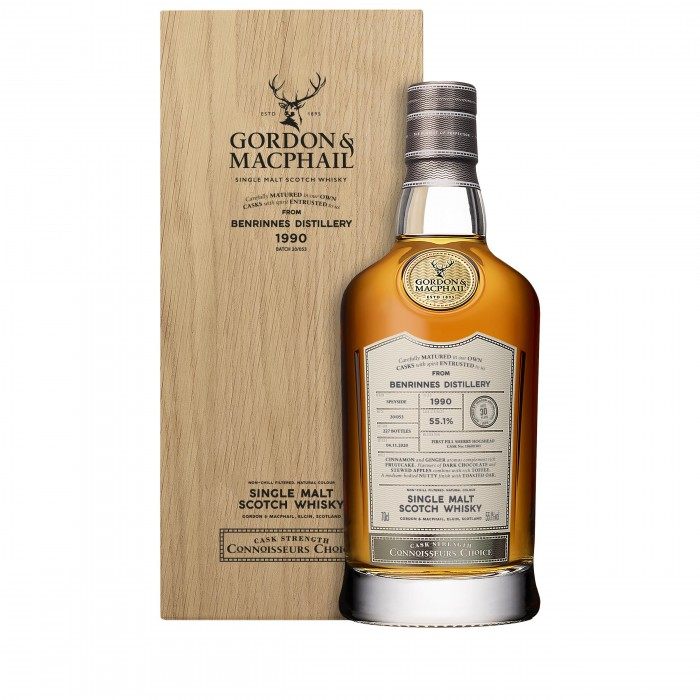 Benrinnes 1990 30 Year Old Connoisseur's Choice