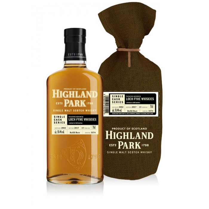 Highland Park 2002 Single Cask - Loch Fyne Exclusive