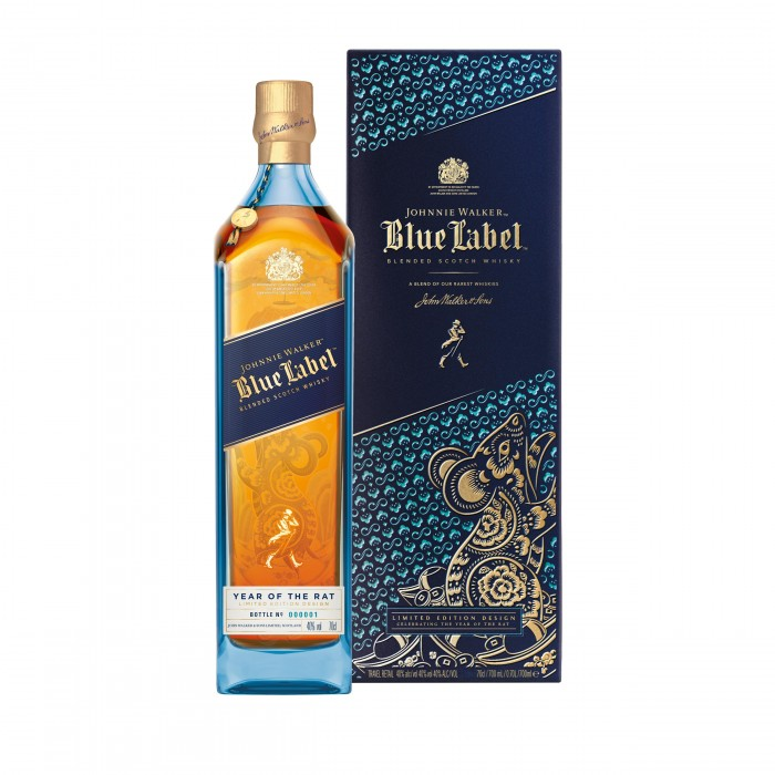 Johnnie Walker Blue Label Year of the Rat with box