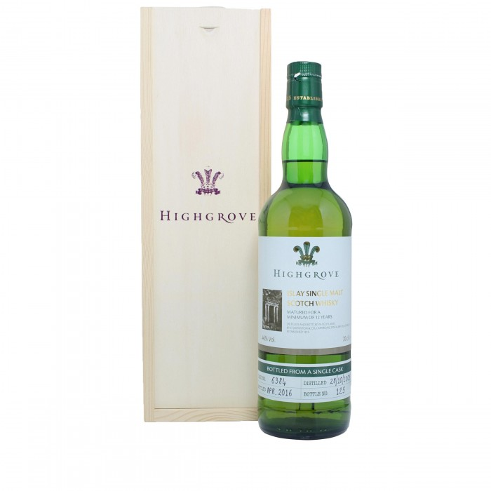 Laphroaig 2003 Highgrove with case