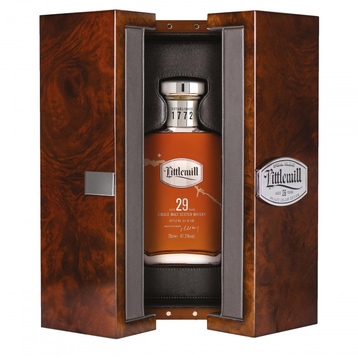 Littlemill 29 Year Old Private Cellar Edition 2019 in case