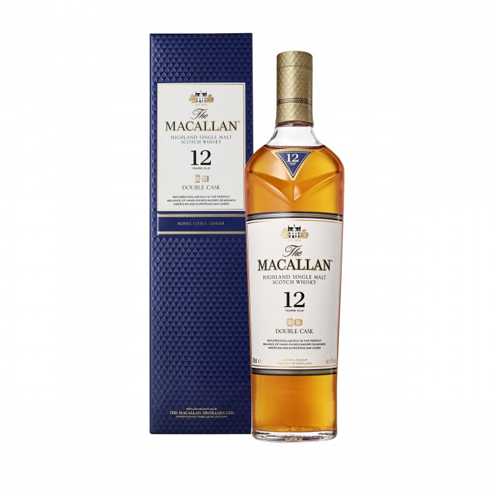 Macallan 12 Year Old Double Cask with box
