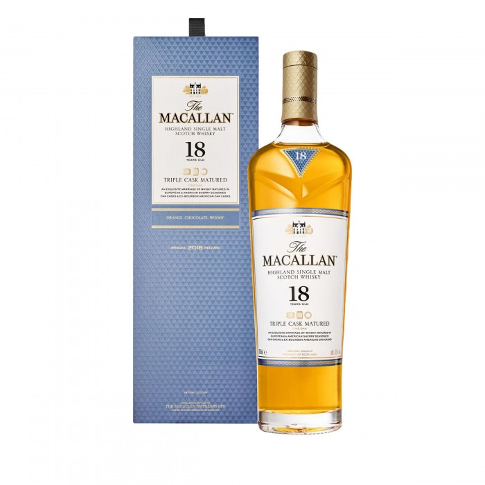 The Macallan 18 Year Old Fine Oak