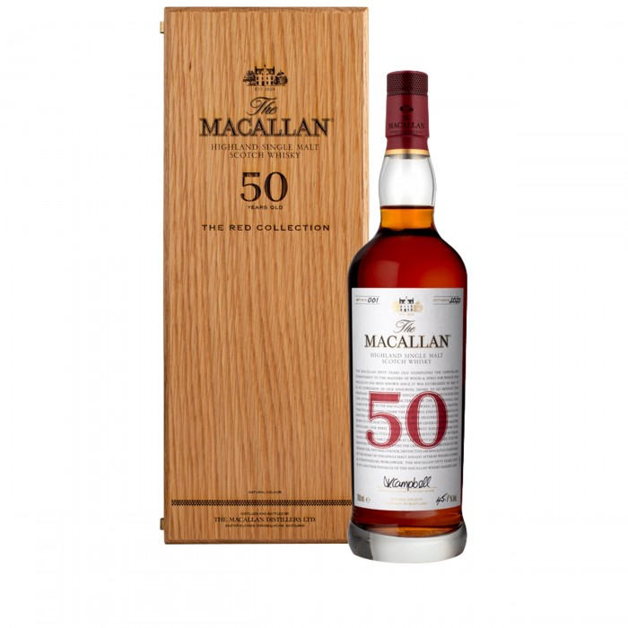 Macallan 50 Year Old Red Collection