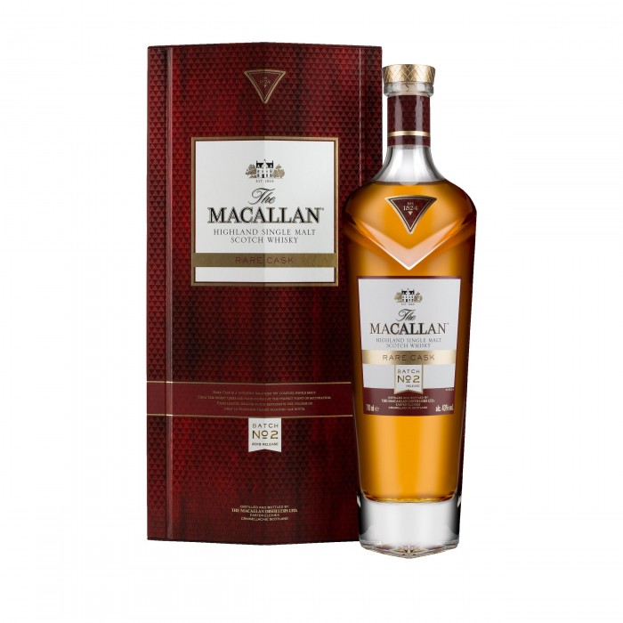 Macallan Rare Cask Batch No.2 2019 Release with case