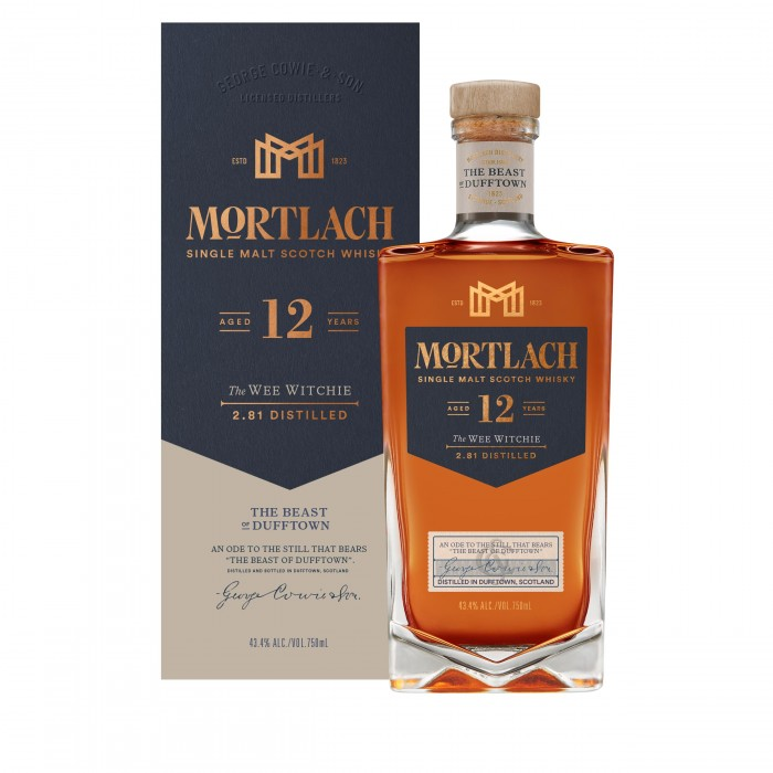 Mortlach 12 Year Old The Wee Witchie with box