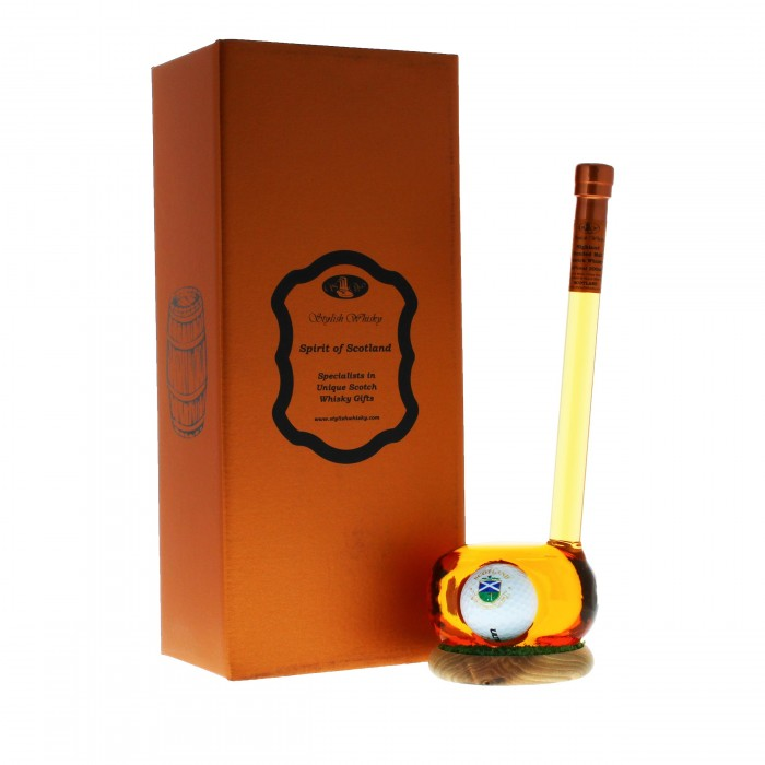 Stylish Whisky Golf Club Decanter 20cl