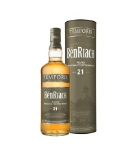 BenRiach 21 Year Old Temporis with box