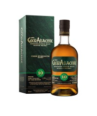 GlenAllachie 10 Year Old Cask Strength Batch 3 with box