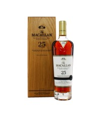 Macallan 25 Year Old Sherry Oak 2019 with case
