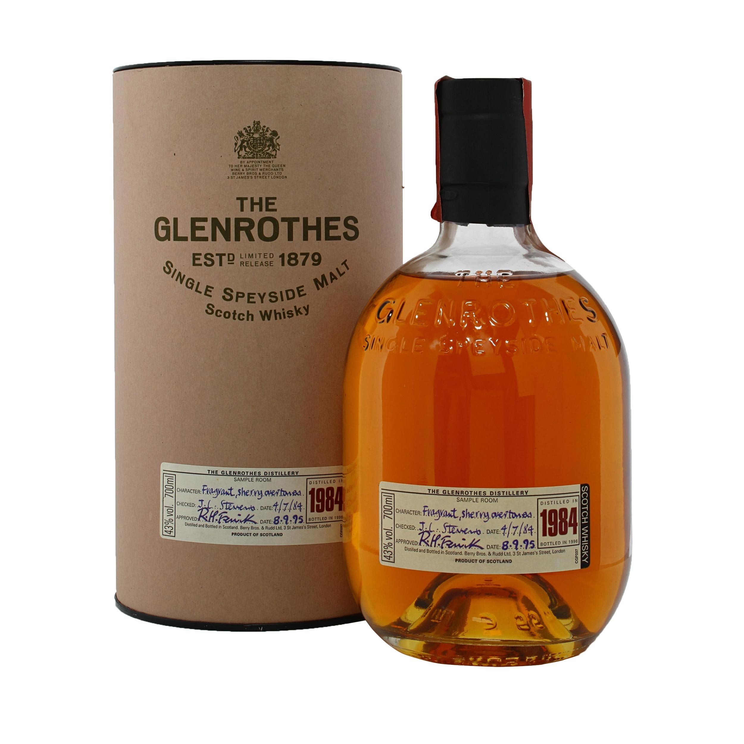Glenrothes 18 Year Old | The Whisky Shop